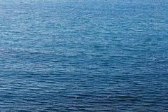 Struttura profonda del mare dell'acqua blu fotografia stock