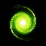 Struttura psichedelica verde dello spazio Fotografie Stock