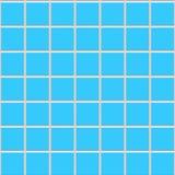 Struttura quadrata blu delle mattonelle di ceramica Immagine Stock