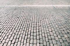 Struttura quadrata della pietra per lastricati, spazio libero Immagine Stock