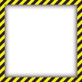 Struttura quadrata geometrica astratta, con nero e giallo diagonali Illustrazione di vettore Fotografie Stock Libere da Diritti