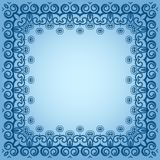 Struttura quadrata simmetric astratta Immagine Stock