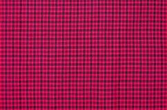 Struttura a quadretti classica rossa, fondo con lo spazio della copia Illustrazione di Stock