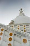 Struttura religiosa buddista di Stupa Fotografia Stock