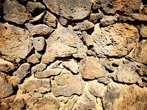 Struttura rocciosa della parete immagine stock libera da diritti