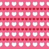 Struttura romantica con il giorno di S. Valentino dei cuori Modello per la carta da parati, modelli, fondo della pagina Web, stru Fotografia Stock Libera da Diritti
