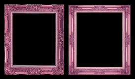 Struttura rosa antica della raccolta 2 isolata su fondo nero, Cl Fotografia Stock Libera da Diritti