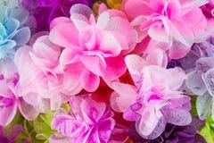 Struttura rosa dei fiori di carta Fotografie Stock Libere da Diritti