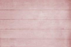 Struttura rosa del fondo di Planked Immagini Stock