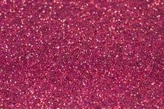 Struttura rosa del fondo di scintillio fotografia stock