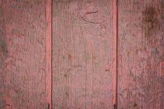 Struttura rosa del legno della porta Immagini Stock