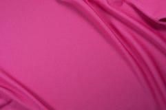 Struttura rosa del tessuto di sport Fotografie Stock Libere da Diritti