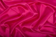 Struttura rosa e artistica del tessuto Immagini Stock