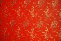 Struttura rossa con Phoenix Fotografia Stock Libera da Diritti