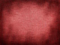 Struttura rossa d'annata del tessuto Fotografia Stock Libera da Diritti