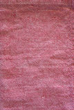 Struttura rossa del cotone Fotografia Stock