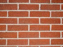 Struttura rossa del fondo del muro di mattoni Fotografia Stock