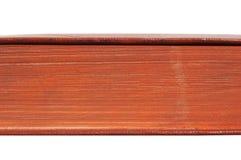 Struttura rossa del libro Struttura delle pagine Immagini Stock