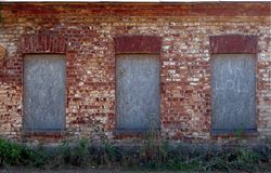 Struttura rossa del muro di mattoni Fotografie Stock Libere da Diritti