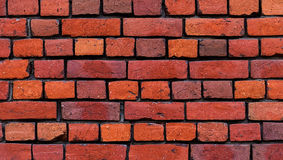 Struttura rossa del muro di mattoni Fotografia Stock