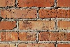 Struttura rossa del muro di mattoni, fondo fotografia stock