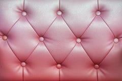 Struttura rossa del sofà Immagini Stock