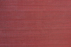 Struttura rossa del tessuto Fotografia Stock