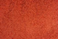 Struttura rossa del tessuto dettagliata Immagini Stock