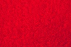 Struttura rossa del velluto Fotografie Stock