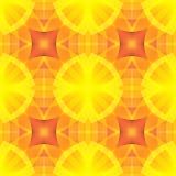 Struttura rossa dell'estratto di giallo arancio Illustrazione ottimista ed energetica del fondo Mattonelle senza cuciture Samp do Fotografia Stock