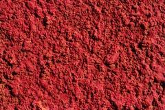 Struttura rossa della parete Fotografia Stock