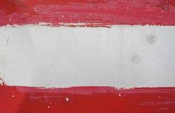 Struttura rossa e bianca Fotografia Stock Libera da Diritti