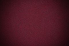 Struttura rosso scuro del velluto Fotografie Stock Libere da Diritti
