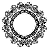 Struttura rotonda decorativa Immagine Stock Libera da Diritti
