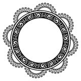 Struttura rotonda decorativa Fotografie Stock Libere da Diritti