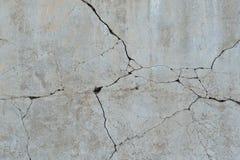 Struttura rotta del pavimento del cemento Fotografia Stock Libera da Diritti