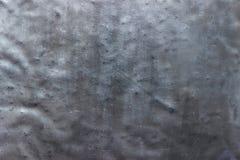 Struttura rustica del metallo, parete scura dell'acciaio del fondo Fotografia Stock Libera da Diritti