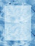 Struttura scorrente organica pagina delle onde e delle bolle di oceano della nota Fotografie Stock