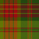 Struttura scozzese del tessuto Fotografie Stock Libere da Diritti