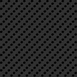 Struttura scura con perforazione Immagini Stock