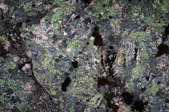 Struttura scura della pietra del granito Fotografie Stock