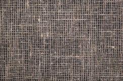 Struttura scura della tela da imballaggio fotografia stock libera da diritti