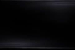 Struttura scura e nera del fondo della fibra del carbonio Immagini Stock