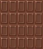Struttura senza cuciture con la barra di cioccolato. Fotografia Stock Libera da Diritti