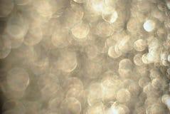 Struttura senza cuciture d'argento delle bolle e degli anelli Fotografie Stock Libere da Diritti