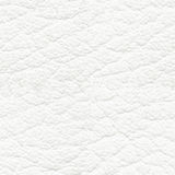Struttura senza cuciture del cuoio bianco Fotografie Stock Libere da Diritti
