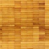 Struttura senza cuciture del di legno (bambù) Reticolo infinito Fotografie Stock