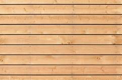 Struttura senza cuciture del fondo della nuova parete di legno non colorata Immagini Stock Libere da Diritti