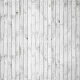 Struttura senza cuciture del fondo di legno bianco Immagini Stock Libere da Diritti
