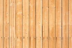Struttura senza cuciture del fondo di nuova parete di legno Immagini Stock